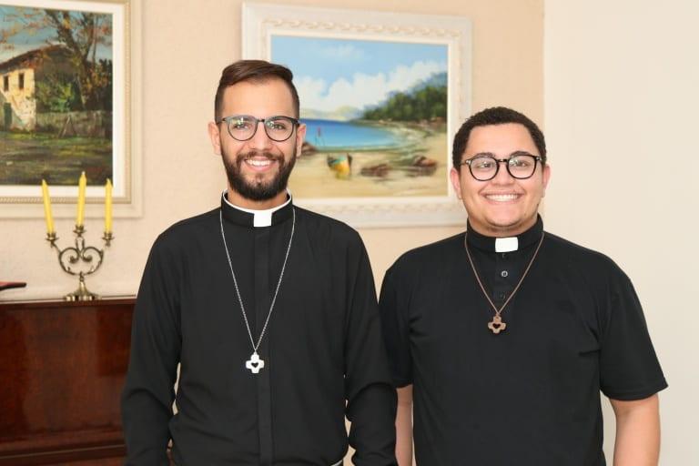 Bem-vindos, fr. Higor e fr. André!